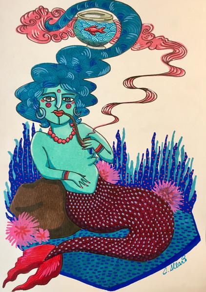Sirène enfumée