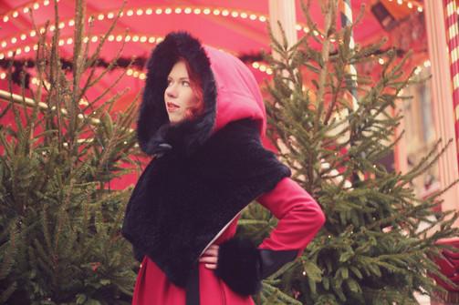 Manteau Little red ♥ ZAWANN créateur de