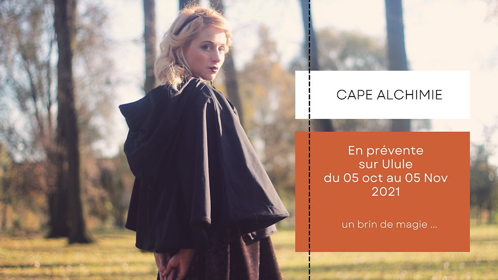 Cape Alchimie zawann créateur de mode made in France