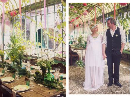 Projet pour Pauline Franque : une séance photo sur un thème de mariage bohème chic