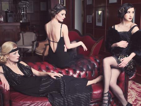 """""""The sparkling Flapper"""" création de robes dans le thème des années 20 pour la créatrice Mandzou"""