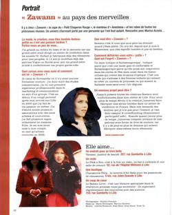 Article de Presse dans Fémina