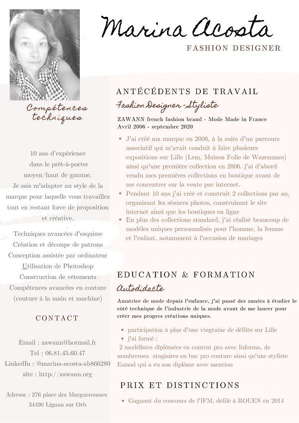 cv_Marina_Acosta_ZAWANN_fashion_designer