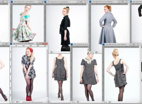 2010 à 2015, travail intensif de recherche sur la forme, création de collections et shoot photos