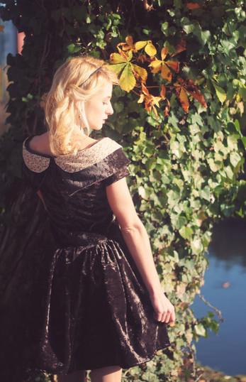 Robe princesse ♥ ZAWANN créateur de mode Made in France
