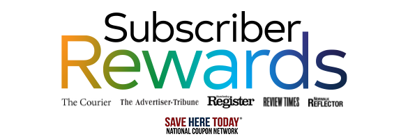 Subscriber Rewards Landing Page Site Hea