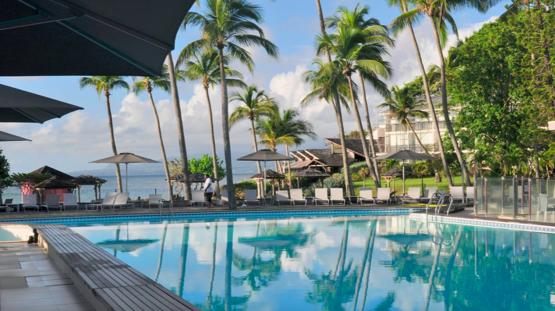 Le Créole Beach Hotel: Many of the hotels in Guadeloupe offer stunning ocean views, swimming pools, private beach access and on-site restaurants. Melissa Banigan for CNN