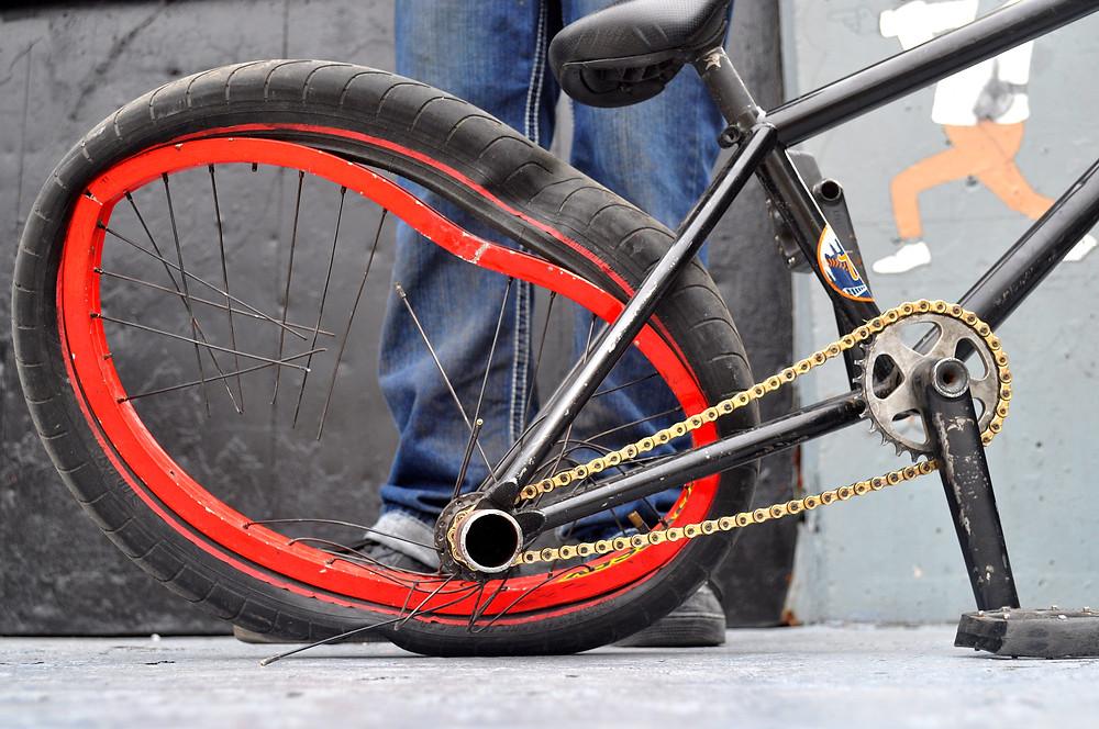 Desmond Rhodes' bike