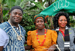 Dodi, his mother, and sister in Bawo