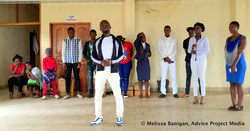 Sharing youth ideas in Bamenda