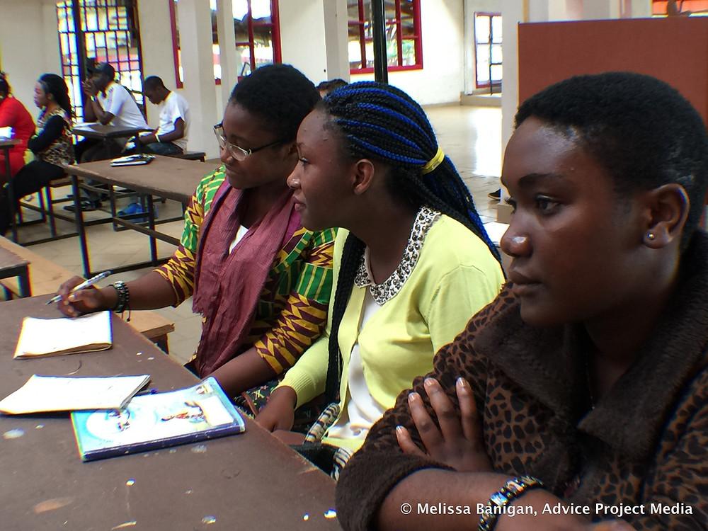 Shneider, Gaelle, Catherine at MEC