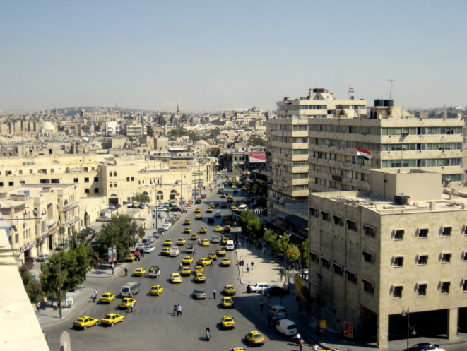 Photo of Aleppo before the bombing by Yiannis