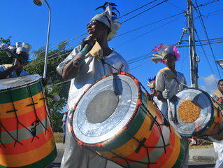 Drums and music in Guadeloupe