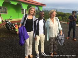 Visiting youth group in Bamenda