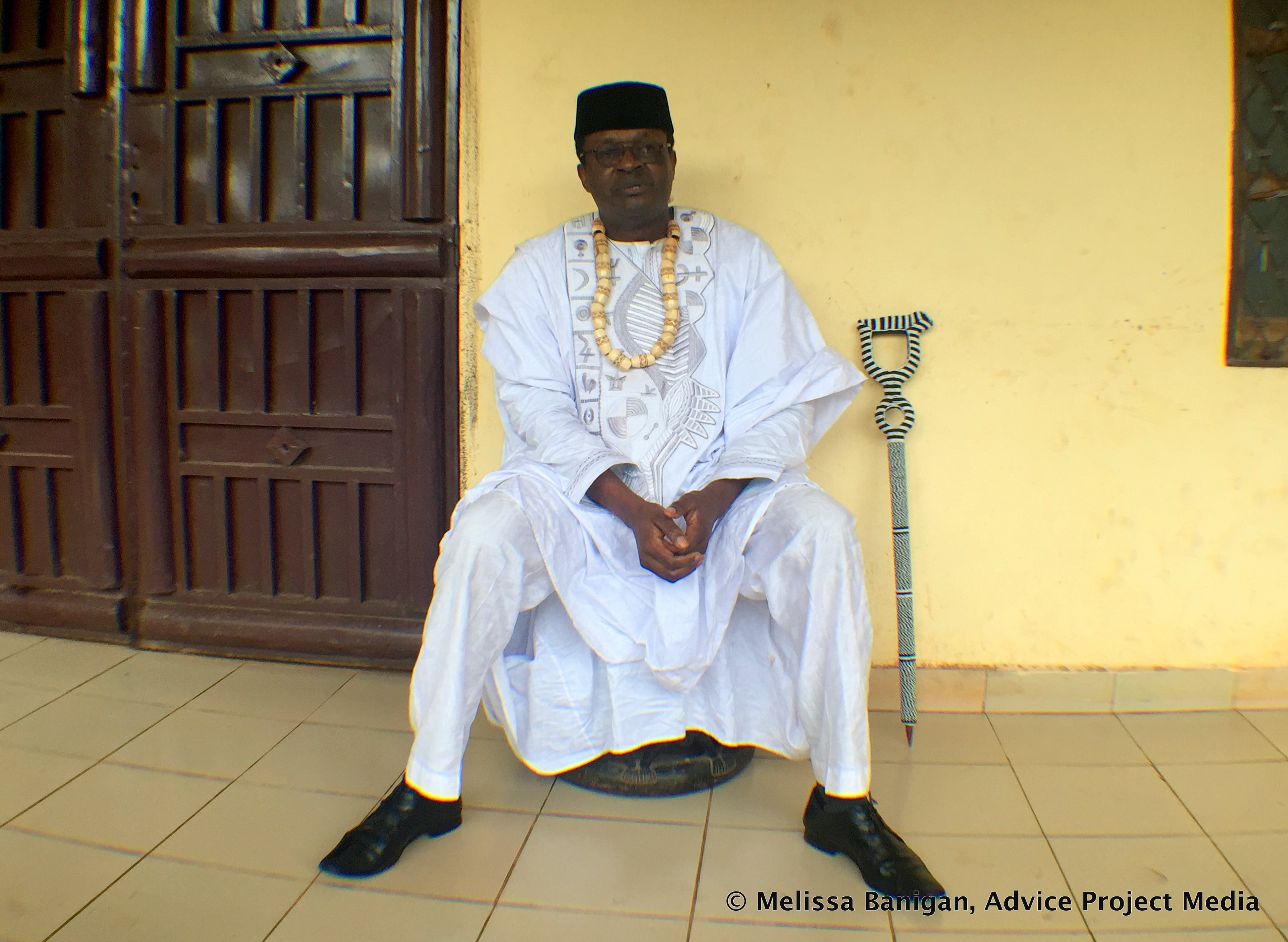HRH the Fon of Bawock