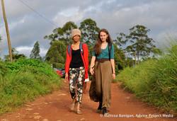 Liana and Anevay in Bawock