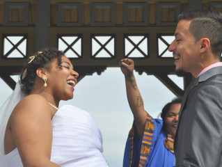 NYC Wedding - Belvedere Castle, Central Park with Cynthia & Joel