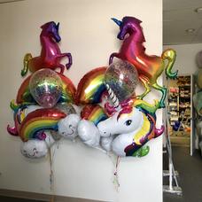 Unicorn Specialty Balloon Centerpiece