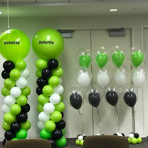 Deloitte Balloons
