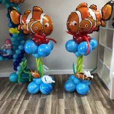Elmo Balloon Columns