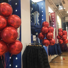 Large Red Foil Bouquets - Uniqlo