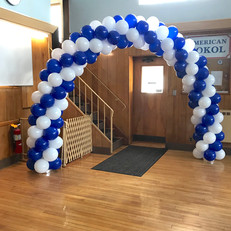 Classic Balloon Arch spiral