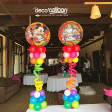 Mickey Club House Framed Cloud Balloon Centerpiece