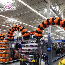 Walmart Aisles Balloon Arches