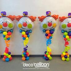 Clown Balloon Centerpiece