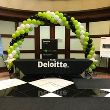 Booth Table Balloon Arch