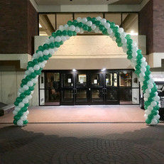 Classic Entrance Balloon Arch