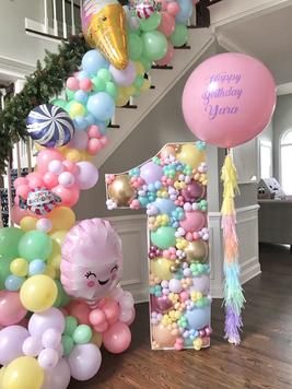 Candy land Balloon Mosaic 1