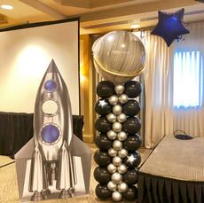 Plater Outer Space Balloon Column
