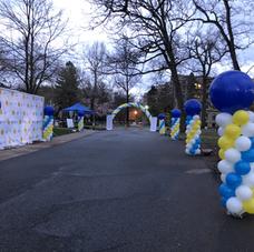 Fundraiser Balloon Decor