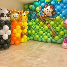 Animal Balloon Columns