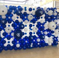 Coldwell Banker Custom Logo Balloon Wall