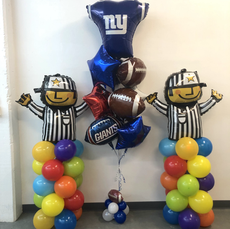 Sports themed Balloon Column