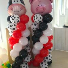 Farm Balloon Columns
