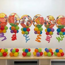 MIckey Club House Balloon Centerpiece