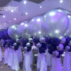 Cloud Balloon Column