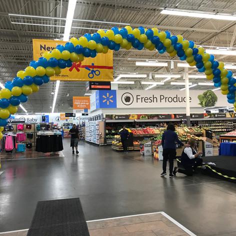 Walmart Balloon Arch