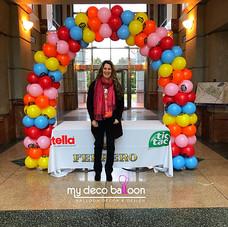 Ferrero Balloon Arch