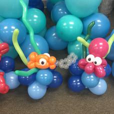 Under the Sea Balloon Centerpiece Base