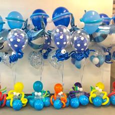 Under the Sea Balloon Centerpieces