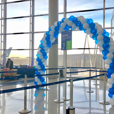 Classic Spiral Balloon Arch