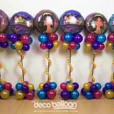Framed Aladdin Cloud Balloon Centerpiece