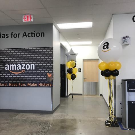 Amazon Balloon Columns
