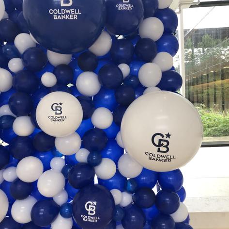 Custom Logo Balloon Wall