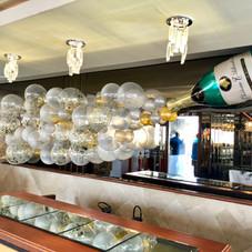 Champagne Balloon display