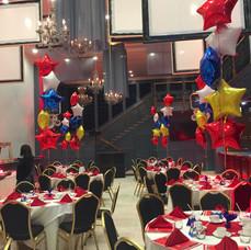Star Bundle Balloon Centerpiece